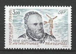 """TAAF YT 216 """" René Garcia """" 1997 Neuf** - Neufs"""