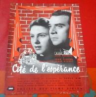 """Petite Affiche Cinéma """"Cité De L'Espérance"""" Jean Stelli René Dary Jean Parédes Jean Tissier 1948 - Publicité Cinématographique"""