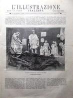 L'Illustrazione Italiana 18 Ottobre 1891 Spielberg Gabelli Palazzo Marino Milano - Avant 1900