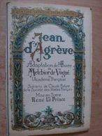 """Magazine Promotionnel """"Jean D'Agreve"""" De René Leprince (1922) (Pathé Consortium Cinéma) - Magazines"""