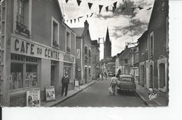 LANGRUNE SUR MER   Rue De La Mer Cafe Du Centre - Autres Communes
