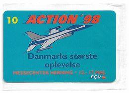 Denmark - Tele Danmark (chip) - Action 98 - TDP198 - 10.1998, 5.300ex, 10kr, NSB - Denemarken