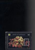 JERSEY BLOC 25** SUR L EXPO AUSTRALIA99 AVEC UNE ORCHIDEE DE JERSEY - Jersey