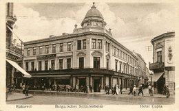 BUKAREST , Bulgarisches Soldatenheim  Hotel Capsa - Rumänien