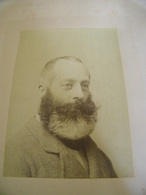 ATTENTION Photo Originale Maurice Gourdon - La Photo.Portrait De Maurice Gourdon  - 1881 - SUP - (Ph 96) - Andere Persönlichkeiten