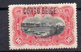 CONGO - COB 31 B - X  Surch Bruxelles B6 - Neuf Avec Charnière  + Certif - Cote 63 Euros - KA09 - 1894-1923 Mols: Mint/hinged