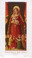 """Lecco - Santino NOSTRA SIGNORA DELLA VITTORIA (Serie T-519) Iscrizione Pia Associazione """"Iscrizione""""  - OTTIMO P29- - Religion & Esotericism"""