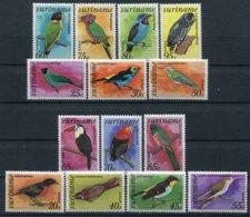 Surinam   Oiseaux     PA 61/67 ** - PA 71/77 ** - Colecciones & Series