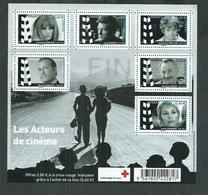 France. Bloc F 4690 ** Grands Noms Du Cinéma , Noiret, Serrault, Jean Marais, Dorleac, Maillan, Girardot - Blocs & Feuillets