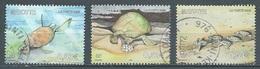 Mayotte YT N°184/186 Protection Des Tortues Marines Oblitéré ° - Oblitérés