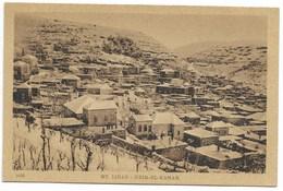 MONT LIBAN - DEIR-EL-KAMAR - Vue D'ensemble Sous La Neige... - Lebanon