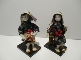 Deux Poupées Japonaise - Muñecas