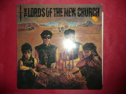 LP33 N°4450 - THE LORDS OF THE NEW CHURCH - ROCK PUNK NEW WAVE GOTH - Rock