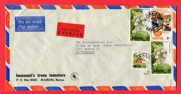 Kenia  2004  Express  To Switzerland - Kenia (1963-...)