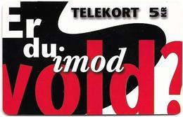 Denmark - Tele Danmark (chip) - Er Du Imod Vold - TDP177A - 10.1997, 2.300ex, 5kr, Used - Denemarken