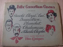 """Magazine Promotionnel """"Programme Harold Lloyd"""" (vers 1920) (Pathé Consortium Cinéma) - Magazines"""