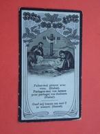Polydorus Denys - Pollet Geboren Te Lichtervelde En Overleden Te Thourout 1918 Ouderdom Van 41 Jaar  (2scans) - Religion & Esotericism