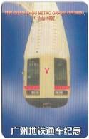 Denmark - Tele Danmark (chip) - Guangzhou Metro - TDP137 - 05.1997, 1.500ex, 5kr, Used - Denemarken