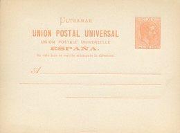 39441 Edifil Postcard #12, Rose 1882, Position 13 - Cuba