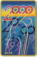 Denmark - Tele Danmark (chip) - Millennium 2000 - TDP346 - 03.2000, 100.100ex, 50kr, Used - Denemarken