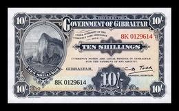 Gibraltar 10 Shillings / 50 Pence 1934 (2018) Pick New SC UNC - Gibilterra