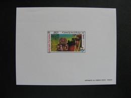 Polynésie: TB épreuve De Luxe Du PA N°185. - Sin Dentar, Pruebas De Impresión Y Variedades