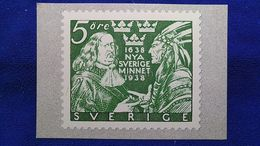 1638 Nya Sverige Minnet 1938 Sweden - Zweden