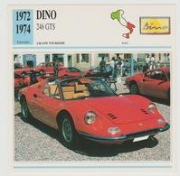 Verzamelkaarten Collectie Atlas: Dino 246 GTS - Voitures