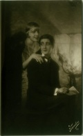 1910s RPPC POSTCARDS - SET OF 5 POSTCARDS - COUPLE FLIRTING - EDIT FOTOCELERE - N.52 (BG858) - Coppie