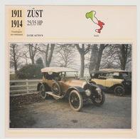 Verzamelkaarten Collectie Atlas: Züst 25/35 HP - Voitures