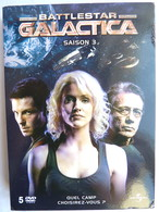 COFFRET 6 DVD BATTLESTAR GALACTICA SAISON 3 - Sciences-Fictions Et Fantaisie