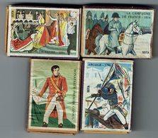 4 Boites Allumettes Du BICENTENAIRE De La Naissance De NAPOLEON - Matchboxes