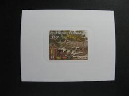 Polynésie: TB épreuve De Luxe Du PA N°184. - Sin Dentar, Pruebas De Impresión Y Variedades