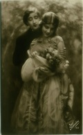 1910s RPPC POSTCARDS - SET OF 5 POSTCARDS - COUPLE FLIRTING - EDIT FOTOCELERE - N.53 (BG859) - Coppie
