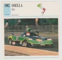 Verzamelkaarten Collectie Atlas: Osella PA9 - Voitures