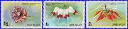 Grenade 1975. ~ YT 577/79** - Orchidées - Grenada (1974-...)