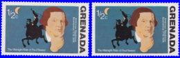 Grenade 1975. ~ YT 591** Par 2 - Paul Revere - Grenada (1974-...)