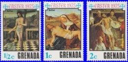 Grenade 1975. ~ YT 597/99** - Pâques. Tableaux - Grenada (1974-...)