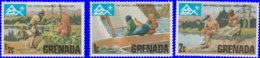 Grenade 1975. ~ YT 604/06** - 14è Jampbree En Norvège - Grenada (1974-...)