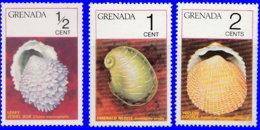 Grenade 1975. ~ YT 611/13** - Coquillages - Grenada (1974-...)