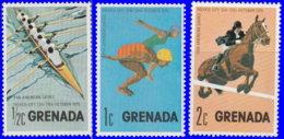 Grenade 1975. ~ YT 618/20** - Jeux Sportifs Panaméricains - Grenada (1974-...)