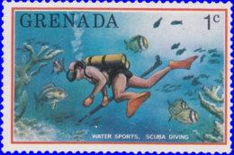 Grenade 1976. ~ YT 654** - Pêche Souis-marine - Grenada (1974-...)