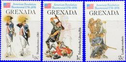 Grenade 1976. ~ YT 667/69** - Indépendance USA - Grenada (1974-...)