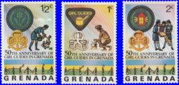 Grenade 1976. ~ YT 674/76** - Guides De Grenade - Grenada (1974-...)