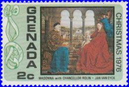 "Grenade 1976. ~ YT 718** - Van Eyck ""Madone"" - Grenada (1974-...)"