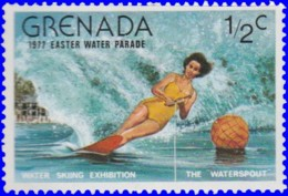 Grenade 1976. ~ YT 735/37** - Parade Aquatique - Grenada (1974-...)