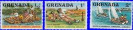 Grenade 1977. ~ YT 749/51** - 6è Jamboree Caraibes - Grenada (1974-...)