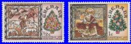 Grenade 1977. ~ YT 759/60** - Noël. Plafonds Décorés - Grenada (1974-...)