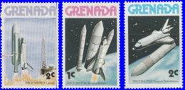 Grenade 1978. ~ YT 784/86** - Navettes Spatiales - Grenada (1974-...)