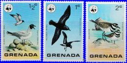 Grenade 1978. ~ YT 790/92** - Oiseaux De Grenade - Grenada (1974-...)
